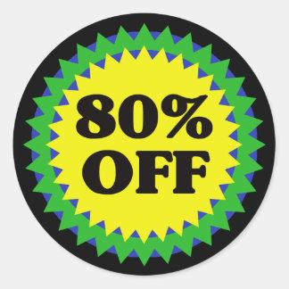 80% OFF RETAIL SALE Sticker