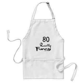 80 Really Funny Birthday Designs Standard Apron