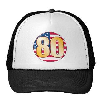 80 USA Gold Cap