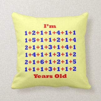 80 Years Old Pillow