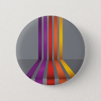 80Colorful Lines_rasterized 6 Cm Round Badge