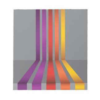 80Colorful Lines_rasterized Notepad