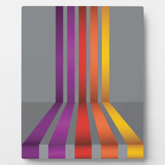 80Colorful Lines_rasterized Plaque