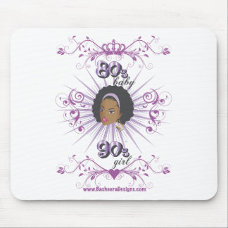 80s Baby 90s girl Mouse Pads