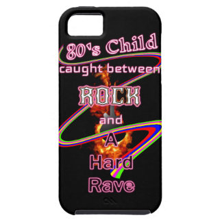 80's Child Rocker or Raver eighties music lover Tough iPhone 5 Case