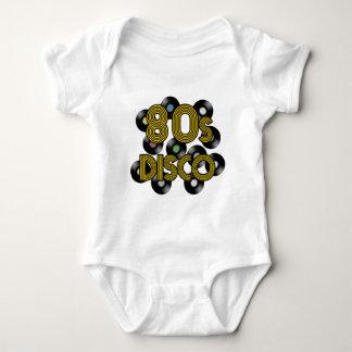 80s disco vinyl records baby bodysuit