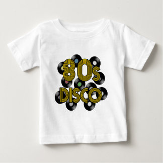 80s disco vinyl records baby T-Shirt