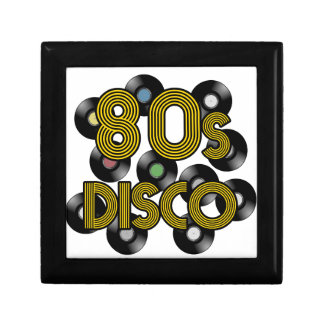 80s disco vinyl records gift box