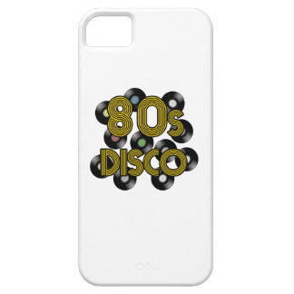 80s disco vinyl records iPhone 5 cover