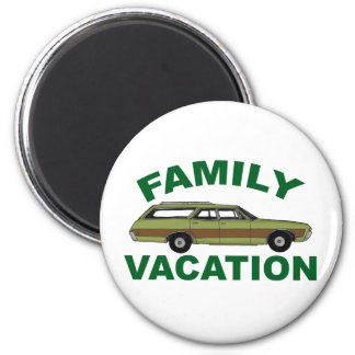 80s Family Vacation Magnet