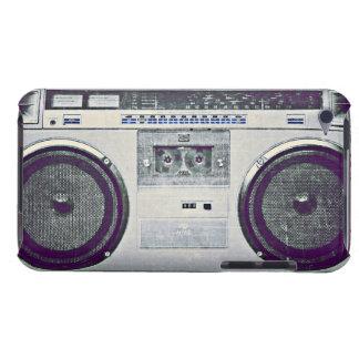 80's ghetto blaster iPod touch case