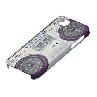 80's ghetto blaster iPhone 5 cases