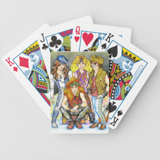 80s Hairband - 80s Retro Bicycle Playing Cards