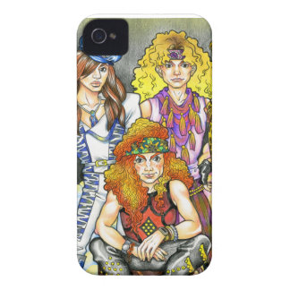80s Hairband - 80s Retro iPhone 4 Cover
