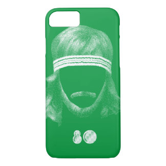 80's hairstyle iPhone 7 case