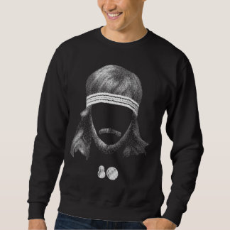 80's hairstyle sweatshirt