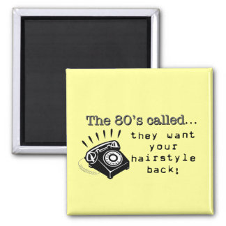 80's Hairstyles Magnet
