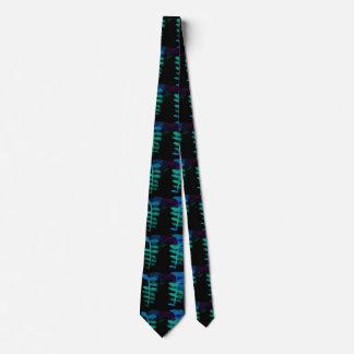 80s leaf tie