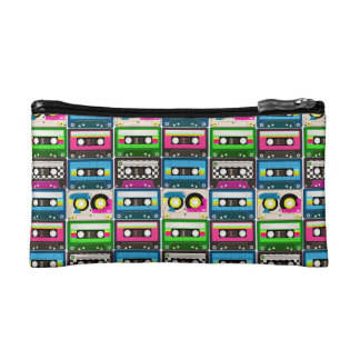 80's Mix Tapes Cosmetic Bag