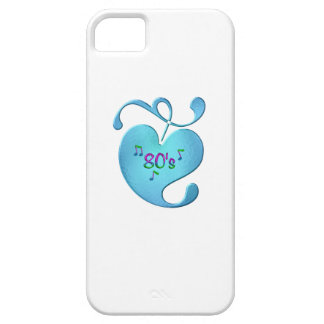 80s Music Love iPhone 5 Cover