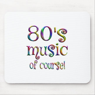 80s Music of Couse Mouse Pad