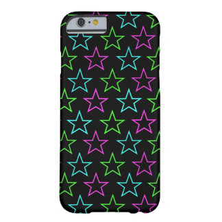 80's Neon Stars Barely There iPhone 6 Case