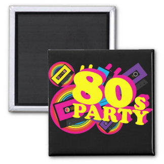 80s Party Magnets