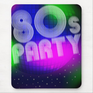 80s Party Mouse Pad