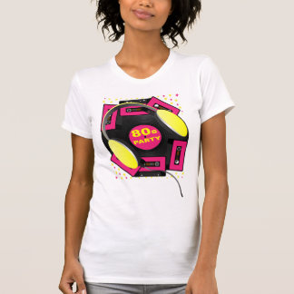 80's Party Tee Shirts