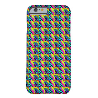 80s Personalized Neon Pattern Phone Barely There iPhone 6 Case