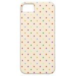 80s petite rainbow girly cute polka dots pattern iPhone 5 cover