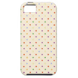 80s petite rainbow girly cute polka dots pattern iPhone 5 covers