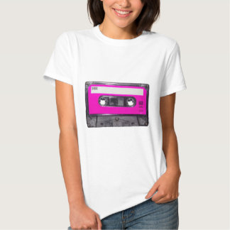 80's Pink Label Cassette Tshirts