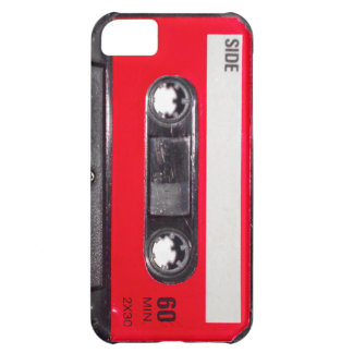 80's Red Label Cassette iPhone 5C Covers