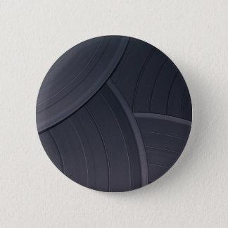 80's Retro Design 6 Cm Round Badge