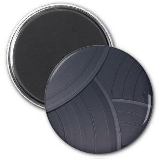 80's Retro Design 6 Cm Round Magnet