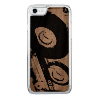 80's Retro Design - Audio Cassette Tape Carved iPhone 7 Case