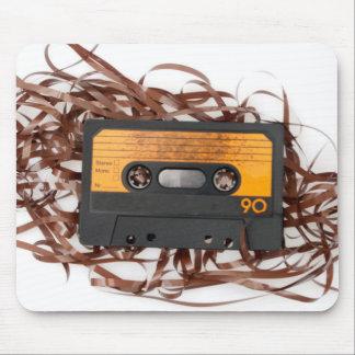 80's Retro Design - Audio Cassette Tape Mouse Pad