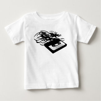 80's Retro Design - Audio Cassette Tapes Baby T-Shirt
