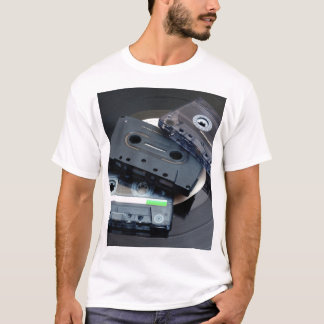 80's Retro Design - Audio Cassette Tapes T-Shirt