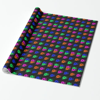 80's Retro Design - Audio Cassette Tapes Wrapping Paper