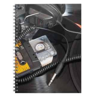80's Retro Design Spiral Notebook