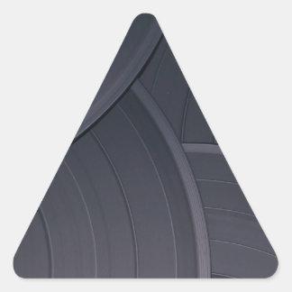 80's Retro Design Triangle Sticker