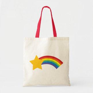 80's Retro Pop Rainbow Shooting Star Bag