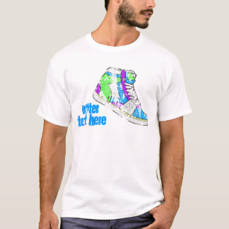 80's Shoe, Enter Text Here T-Shirt