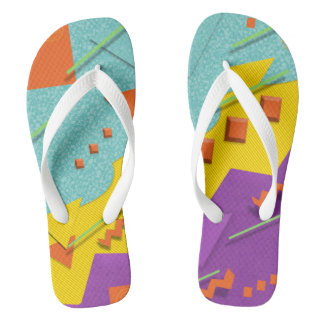 80s Style Flip Flops
