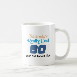 80th Birthday Coffee Mug