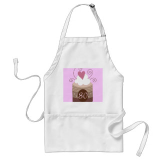80th Birthday Gift Ideas For Her Standard Apron