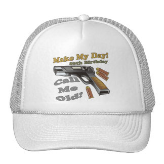 80th Birthday T-shirts and Gifts Mesh Hat
