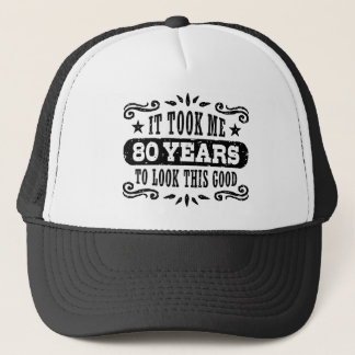 80th Birthday Trucker Hat
